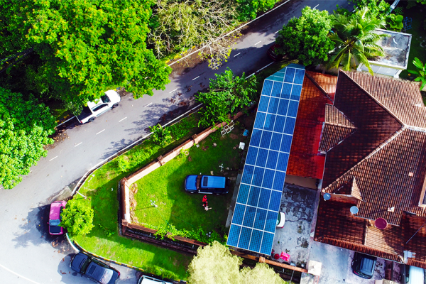 BSL Eco Energy projects - Lim's residence, 12kW solar installation