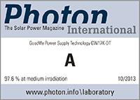 GoodWe Inverters - Photon Award