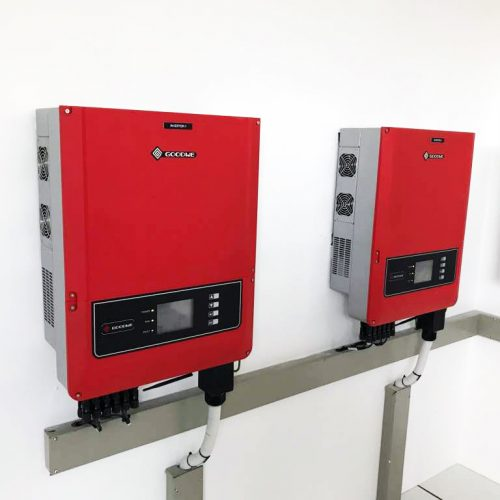 GoodWe inverters used in the Deo Ca TMC installation