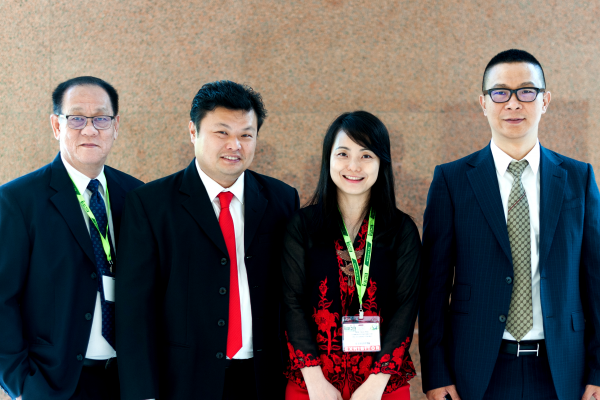 (From left) BSL Eco Energy directors Mr Jimmy Teh and Mr Andy Woo, BSL Eco Energy Managing Director Mr Lim Chi Haur, BSL Eco Energy Communications Director Ms Irene Tan and Seraphim Solar System Chief Executive Officer Mr Polaris Li