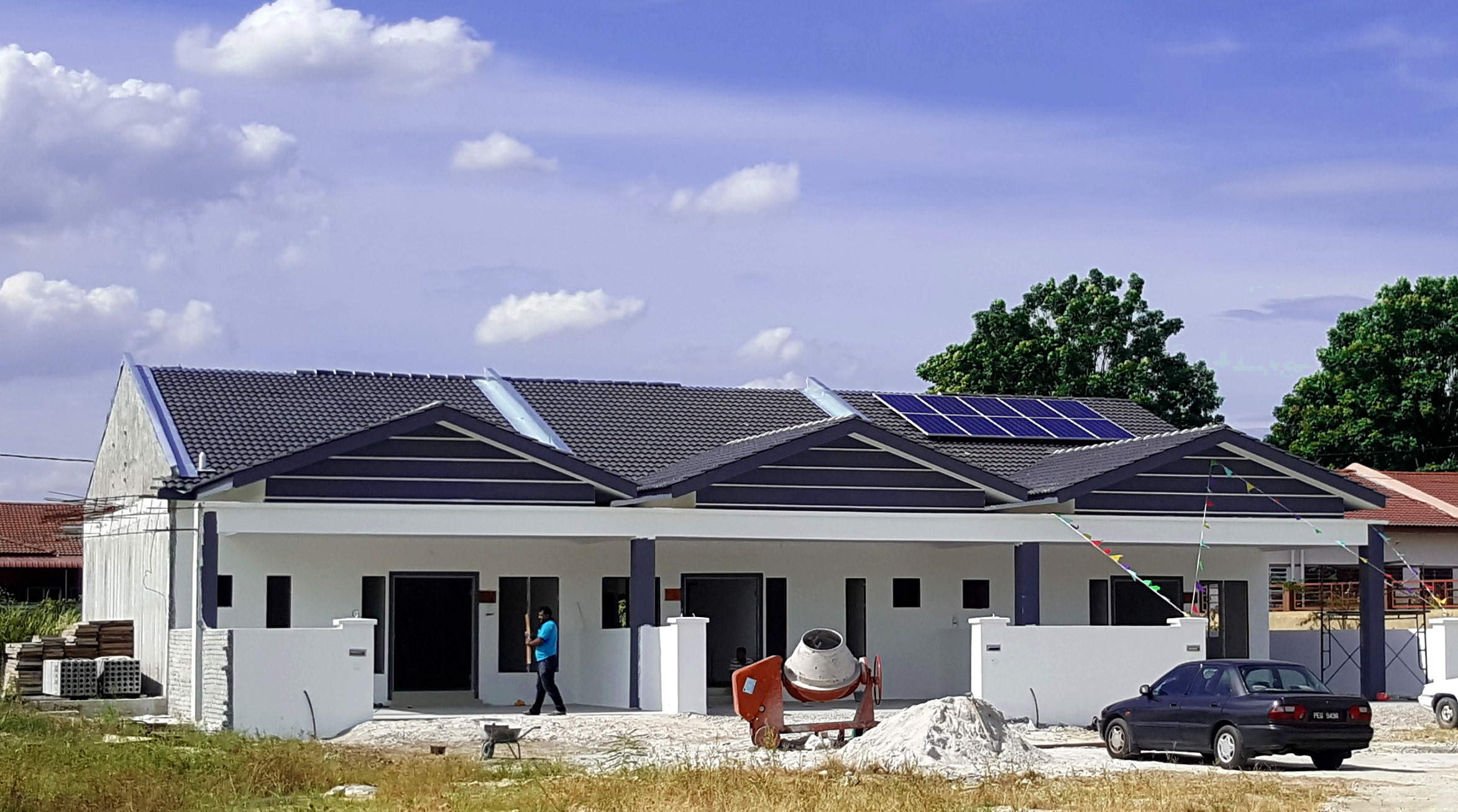 BSL Eco Energy projects - Desa Pengkalan installation
