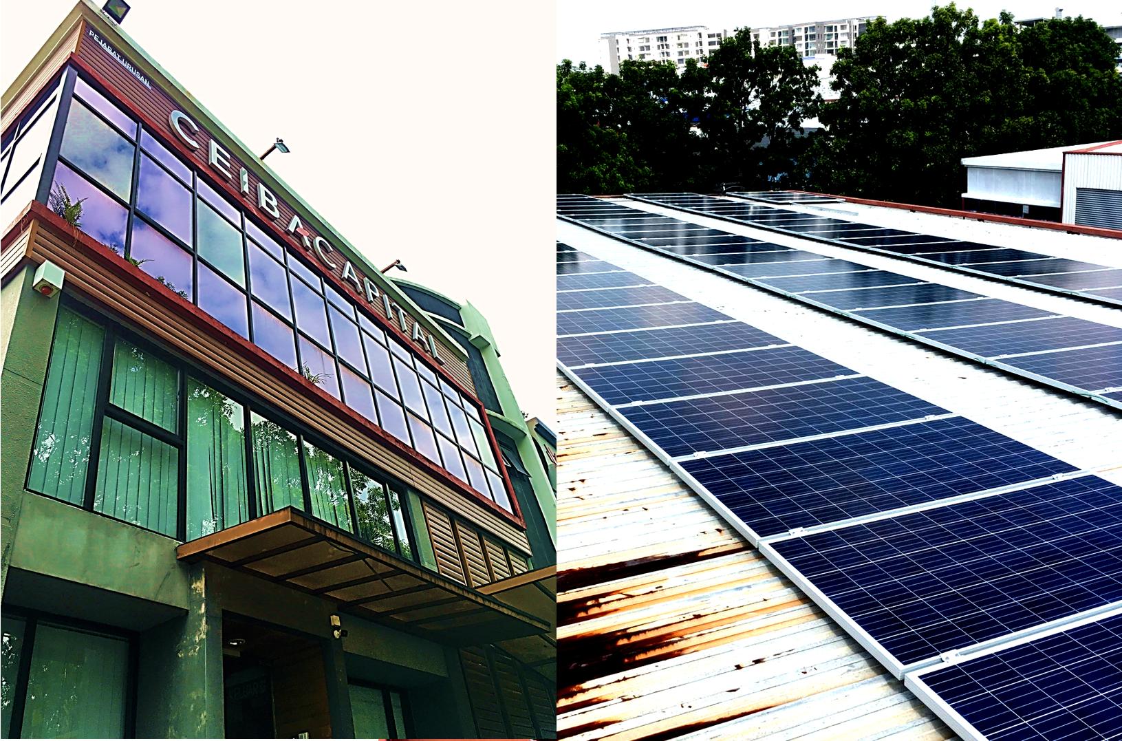 BSL Eco Energy installation at Ceiba Capital Sdn Bhd